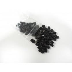 100 Standard Black Plastic...