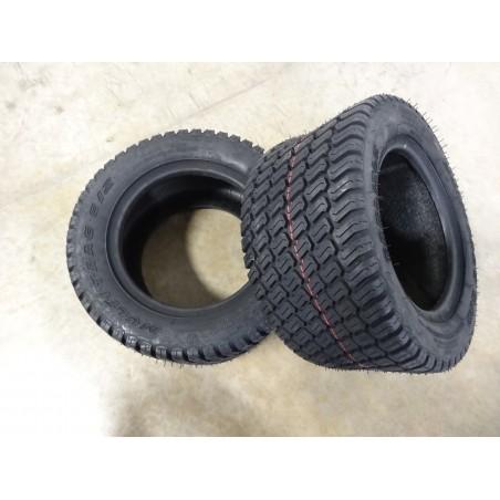 TWO 18x8.50-10 (215/50-10) Carlisle Multi Trac C/S Tires 215/50-10 4 ply TL