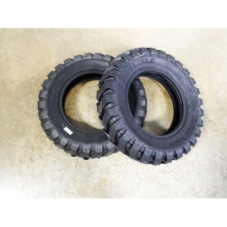 TWO New 5.70-12 Carlisle Trac Chief USA Made Tires 4 ply TL