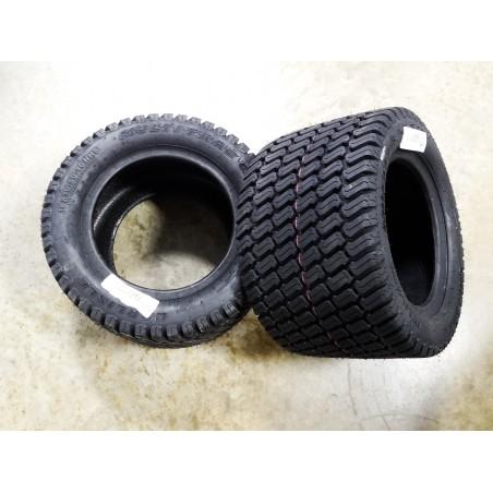 TWO 18x10.50-10 Carlisle Multi Trac C/S Tires 4 ply TL