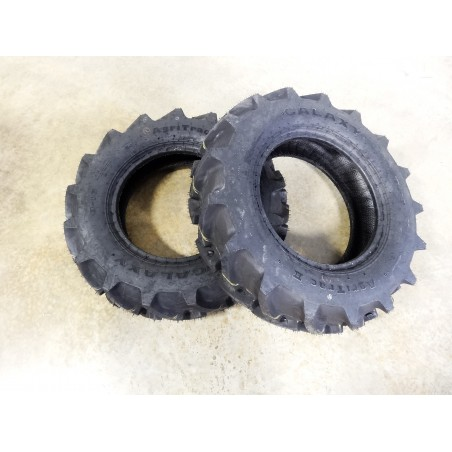 TWO New 8-16 Galaxy AgriTrac II Tractor Tires 6 ply Tubeless