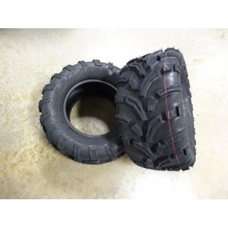 TWO New 25X11.00-12 OTR 440 Mag UTV Tires 6 ply TL 25x11-12