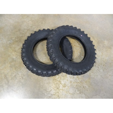 TWO New 5.00-15 American Farmer I-3 Traction Implement Farm Tires 4 ply TL