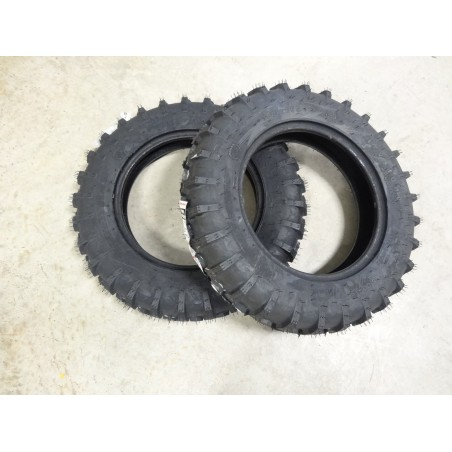 TWO New 5.00-15 Firestone I-3 Power Implement Farm Tires 4 ply TL
