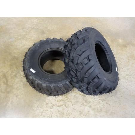 TWO New 24X9.50-10 Carlisle AT489 ATV/UTV Tires 4 ply TL (240/75-10)
