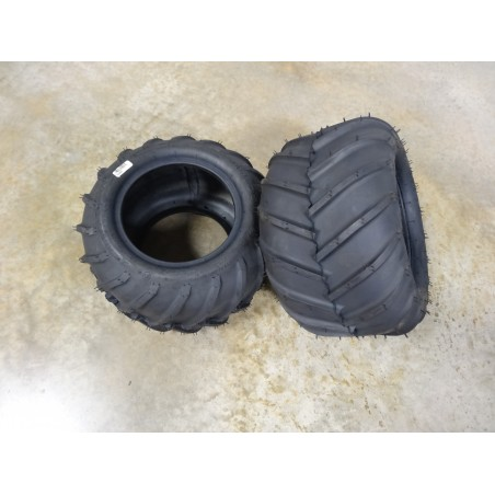 TWO 21X11.00-10 Carlisle AT101 Chevron Tires 4 ply TL for Zero Turn Mowers