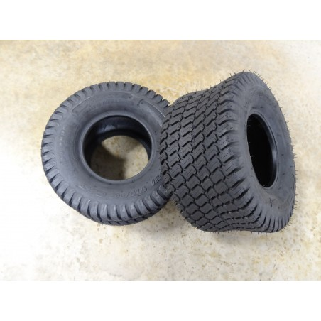 TWO 18x9.50-8 Carlisle Multi Trac C/S Turf Tires 6 ply TL (240/55-8)