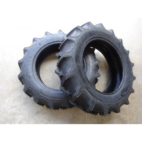 TWO 6-14 Regency Ag Lug G-1 Tractor Tires 4 ply Tubeless Traction Field & Road