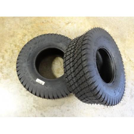 TWO 18x7.00-8 Carlisle Multi Trac C/S Turf Tires 4 ply TL