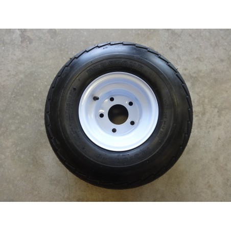 18.5X8.50-8 Deestone D268 Trailer Tire 6 ply on 5 Hole Wheel 18.5X8.5-8