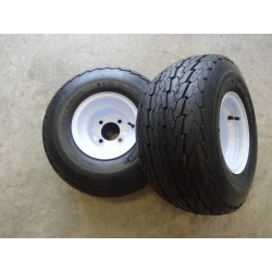 TWO 18.5X8.50-8 Deestone...