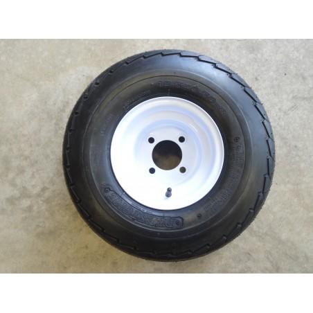 18.5X8.50-8 Deestone D268 Trailer Tire 6 ply on 4 Hole Wheel 18.5X8.5-8