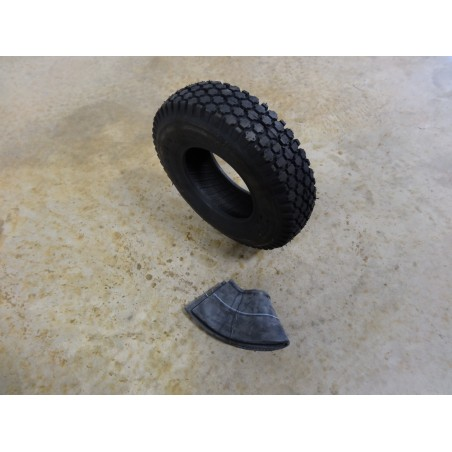 4.10/3.50-6 Air-Loc Stud Tread Tire 4 ply with TR87 bent stem Tube