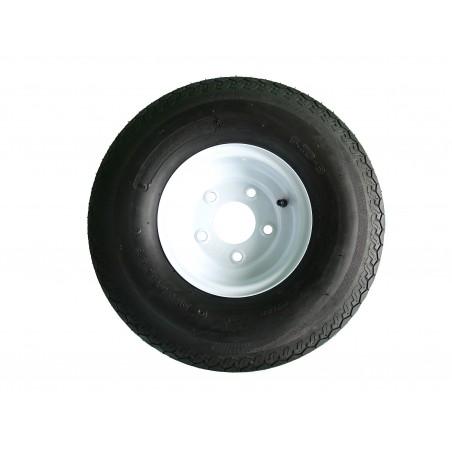 5.70-8 Deestone D901 Trailer Tire 8 ply on 5 Hole Wheel