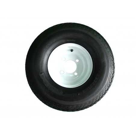 5.70-8 Deestone D901 Trailer Tire 8 ply on 4 Hole Wheel