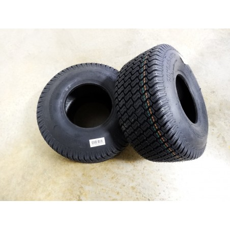 TWO New 20X8.00-8  Air-Loc P332 Turf Tires 6 ply TL