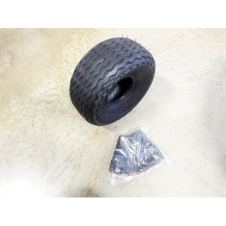 New 8.00-6 Carlisle Turf Glide Tire 4 ply TT WITH Tube