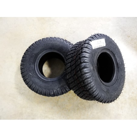 TWO New 15X6.00-6 Carlisle Turf Master Tires 4 ply TL