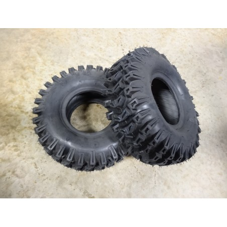 TWO 15x5.00-6 Kenda K478 Lug Traction Tires 2 ply TL