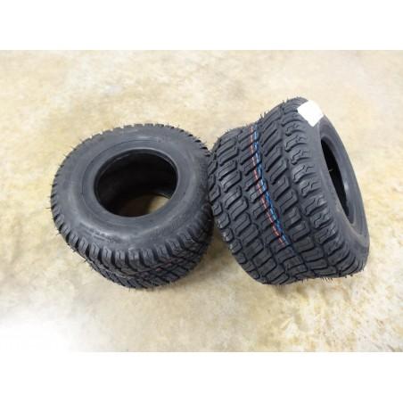 TWO New 13x6.50-6 Carlisle Turf Master Tires 4 ply TL