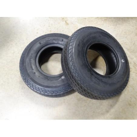 TWO New 5.70-8 Deestone D901 Trailer Tires 8 ply Load Range D