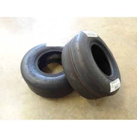 TWO New 13x5.00-6 Carlisle Smooth Slick Tires 4 ply TL