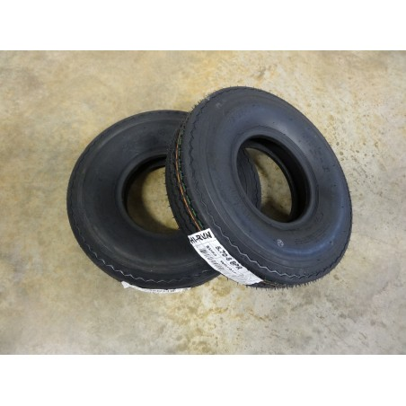 TWO New 5.70-8 Hi-Run SU02 Trailer Tires 8 ply Load Range D