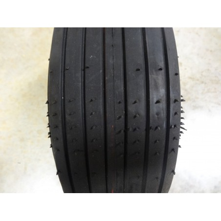 New 13x5.00-6 Carlisle Straight Rib Tire Smooth Ribbed 4 ply TL