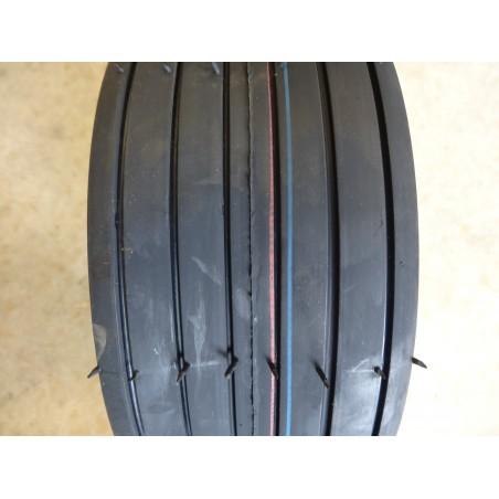 New 11X4.00-4 Carlisle Straight Rib Tire Smooth Ribbed 4 ply TL