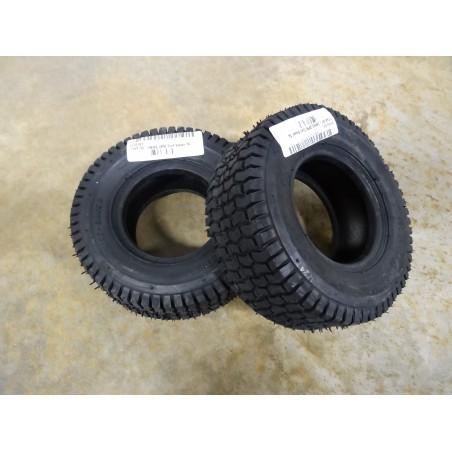 TWO New 11x4.00-5 Carlisle Turf Saver Tires 2 ply TL