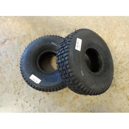 TWO New 11X4.00-4 Carlisle Turf Saver Tires 2 ply TL