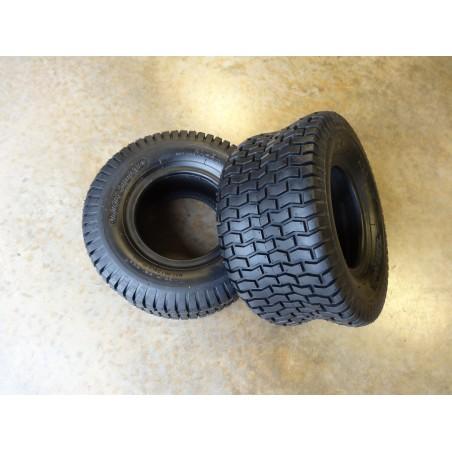 TWO New 13X6.50-6 Deestone D265 Turf Tires 4ply TL
