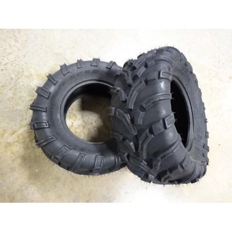 TWO New 25x10.00-12 OTR 440 Mag UTV Tires 6 ply TL 25x10-12