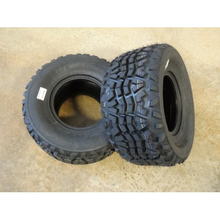 TWO 24X11-10 Air-Loc X-trail Tires 8 ply replaces Dunlop KT869 24X11.00-10 Kawasaki Mule