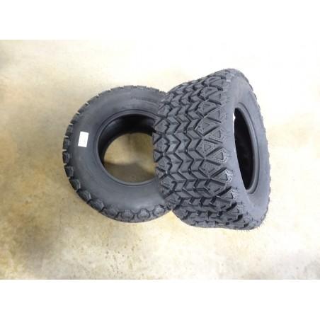 TWO 25X10.00-12 Air-Loc Power Trail UTV Tires 6 ply replaces Kubota OTR 350 Mag