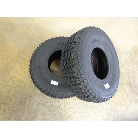 TWO 24X9-10 Air-Loc X-trail Tires 8 ply replaces Dunlop KT869 24X9.00-10 Kawasaki Mule