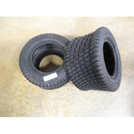 TWO New 20X10.00-10 Carlisle Turf Master Tires 4 ply TL metric 255/50-10