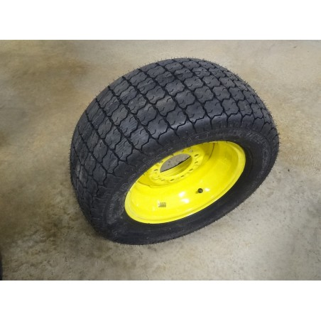 New 27/12LL-15 Galaxy Turf Special Tire on John Deere 6 hole wheel 27x12LL-15