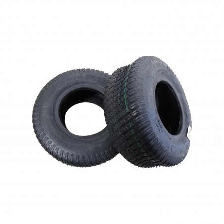 TWO 11x4.00-5 Air-Loc P332 Turf Tread Tires 4 ply Tubeless