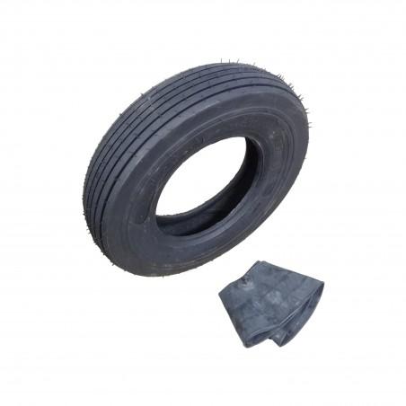 7.60-15 Carlisle I-1 Rib Implement Farm Tire 8 ply Tubetype WITH TUBE