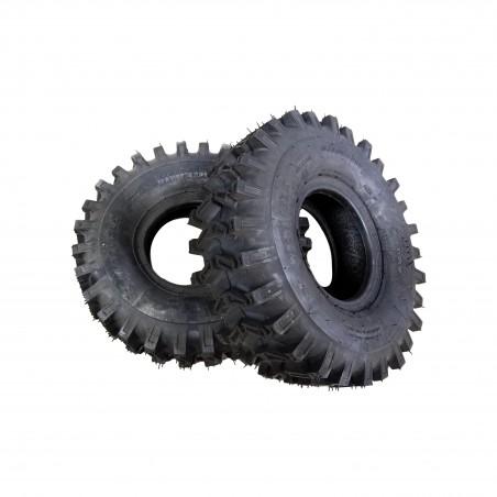 TWO 15x5.00-6 Carlisle X-Trac Lug Traction Tires 2 ply TL