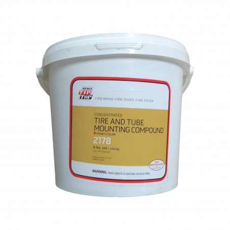 8 lb Pail Rema Tip Top Tire & Tube Mounting Compound Lube Soap Tire Lube