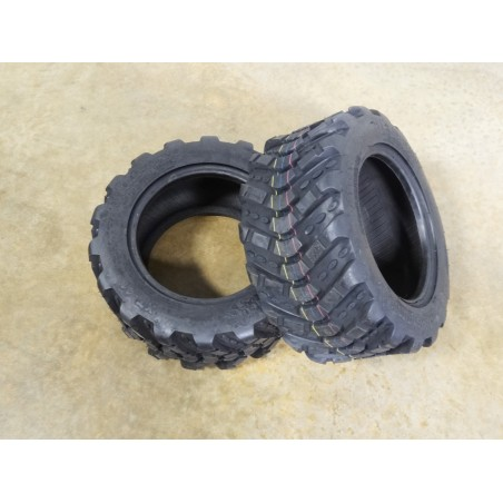 TWO 18X8.50-10 Armstrong XT-41 Lug Traction Tires 4 ply TL for Compact Tractors