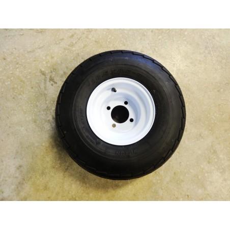 New 18.5X8.50-8 Hi-Run SU03 Trailer Tire 6 ply on 4 Hole Wheel 18.5X8.5-8