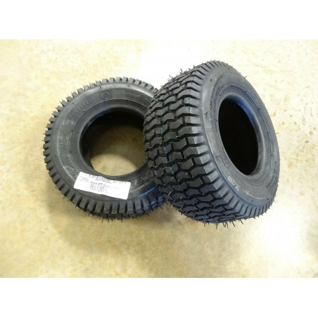 TWO New 13x5.00-6 Carlisle Turf Saver Tires 2 ply TL (130/70-6)