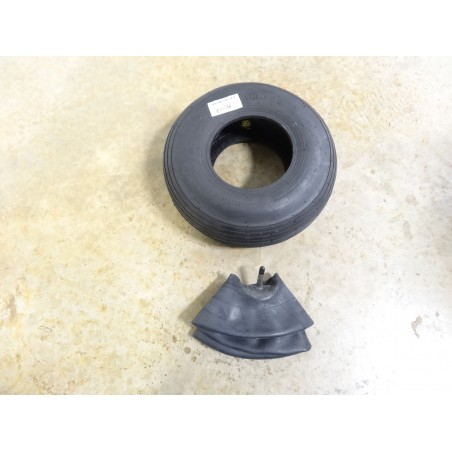 New 4.00-6 Wheelbarrow Tire WITH Tube also for Garden Carts Lawn Mower Wagons
