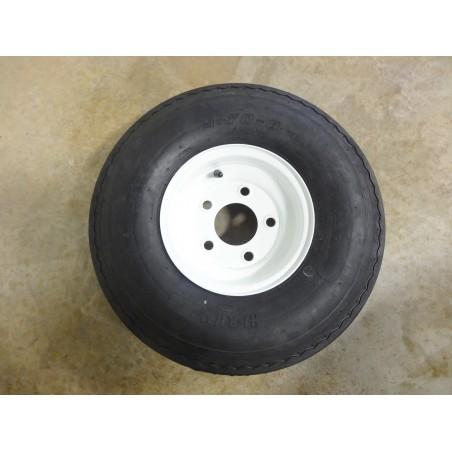 New 5.70-8 Hi-Run SU02 Trailer Tire 8 ply rated on 5 Hole Wheel