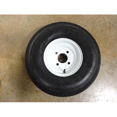 New 5.70-8 Hi-Run SU02 Trailer Tire 8 ply rated on 4 Hole Wheel