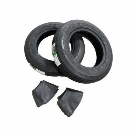 TWO New 6.00-16 Samson I-1 Rib Implement Tires 6 ply WITH Tubes