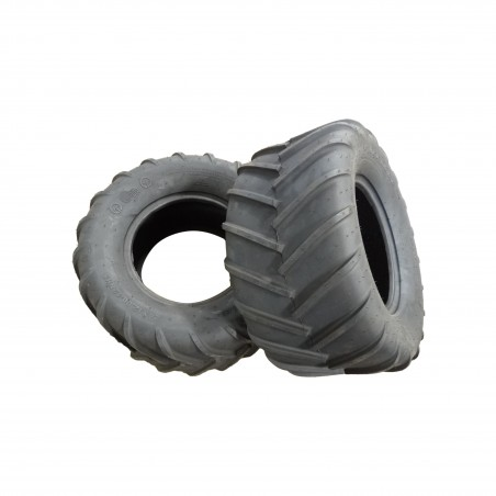 TWO New 24X12.00-12 OTR 22 Mag Traction Lug Tires for Zero Turn Mowers 24x12-12